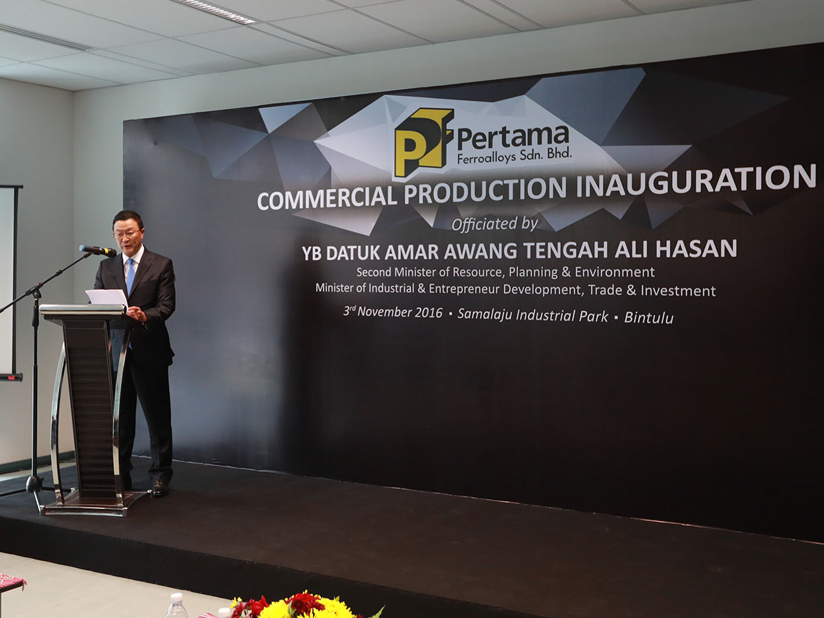 Commercial Production Inauguration