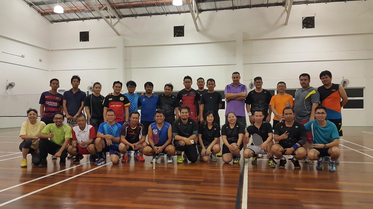 PFA 1st Badminton Competition March 2016